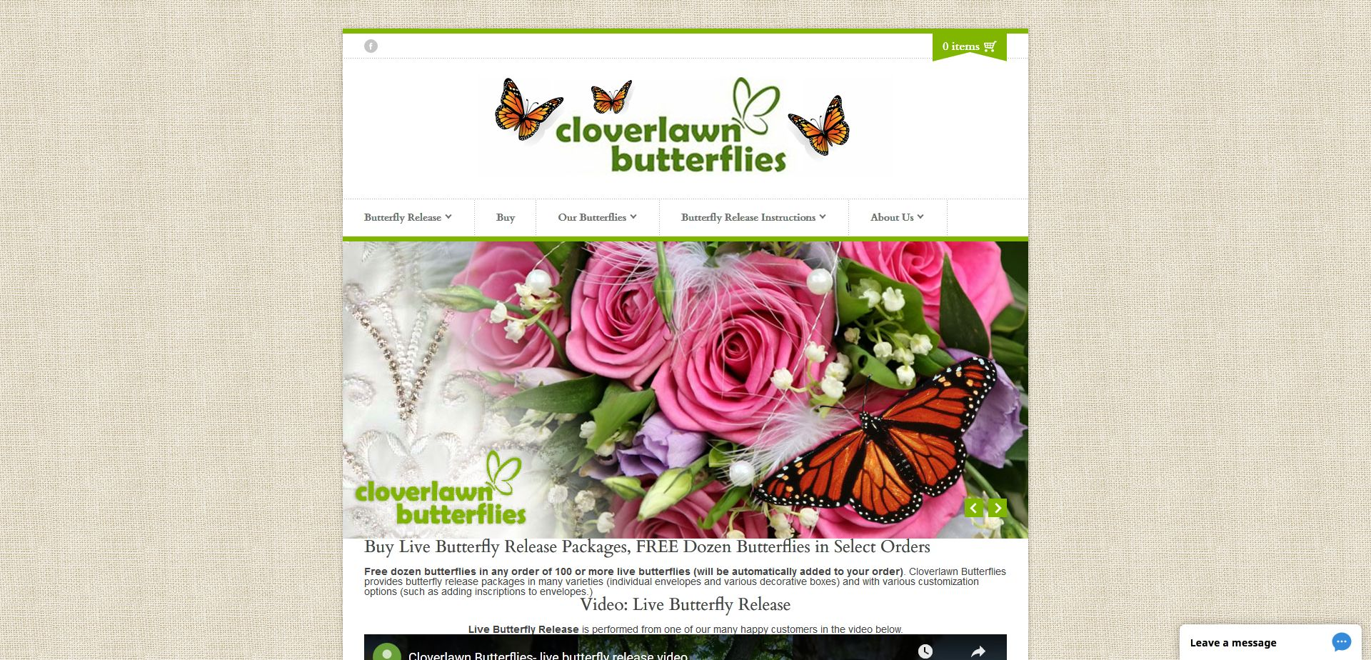 Cloverlawn Butterflies Case Study
