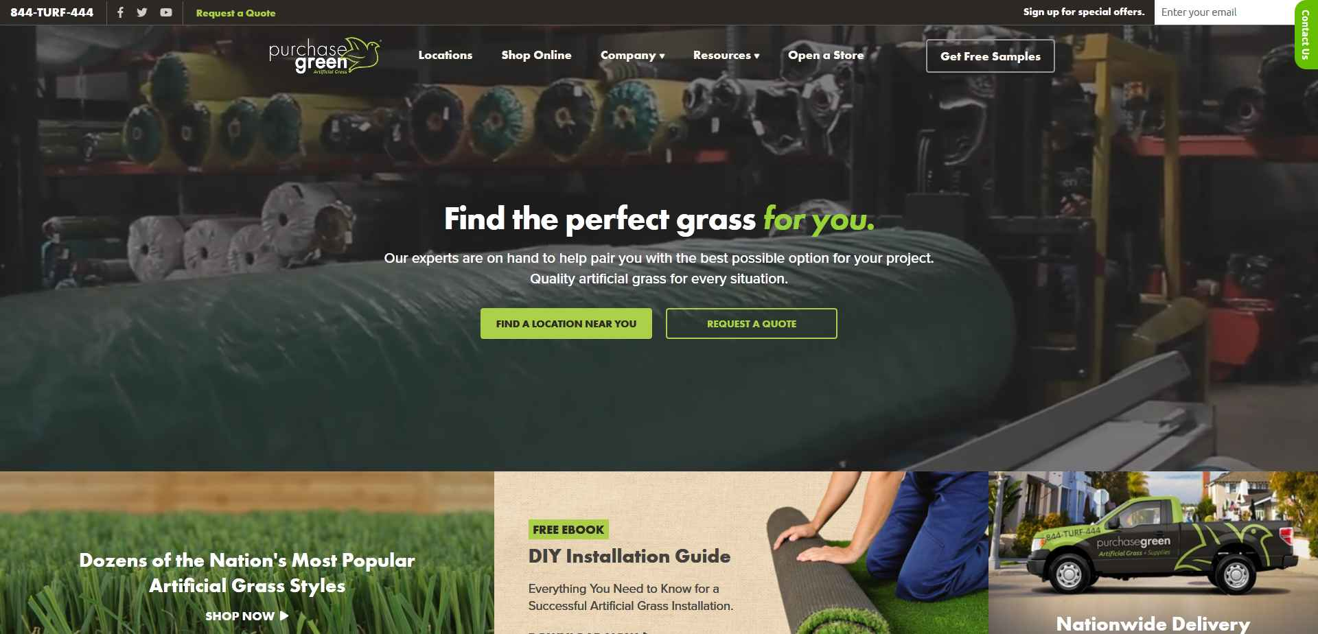 Purchase Green Case Study